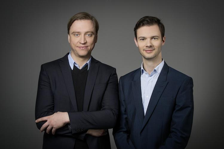 Mathias Baumeister und Axel Winckler